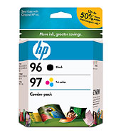 96/97 Combo-Pack Inkjet Print Cartridges