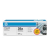 Cb435a Black Print Cartridge ( yield: 1,500  pages)