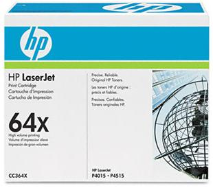 64X Laser Black Cartridge, High Yield,