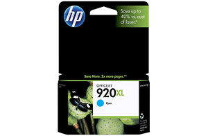 920xl Cyan Officejet Ink Cartridge (Yield: 700 Pages)
