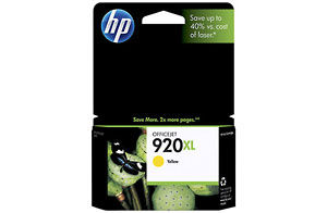 HP 920xl Yellow Officejet Ink Cartridge (Yield: 700 Pages)