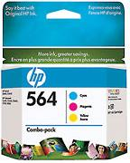 564 Inkjet Print Cartridge Combo Pack (Yield: 170 Color Pages)