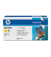 Ce252a Yellow Print Cartridge (Yield: 7,000 Standard Pages)
