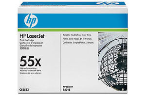 Laserjet Ce255x Black Print Cartridge (Yield: 12,500 Pages)