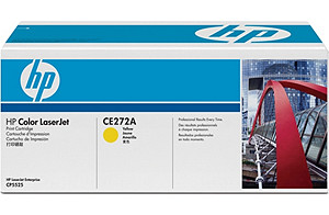 Color LaserJet CE270A Yellow Print Cartridge (yield: 13,000 pages)