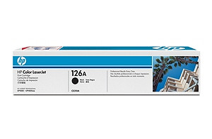 126A Black LaserJet Print Cartridge (yield: 1,200 pages)