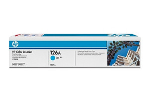 126A Cyan LaserJet Print Cartridge (yield: 1,000 pages)