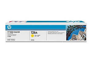 126A Yellow LaserJet Print Cartridge (yield: 1,000 pages)