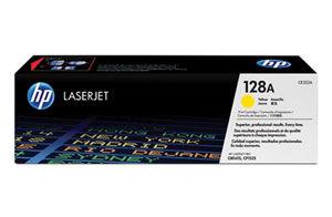 128A Yellow LaserJet Print Cartridge (yield: 1,300 pages)