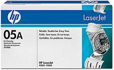 LaserJet   05A Black Toner Cartridge