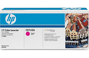 Color LaserJet CE741A Magenta Print Cartridge (yield: 7,300 pages)