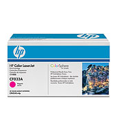 CF033A 646A Magenta LaserJet Toner Cartridge (yield 12,500 standard pages)