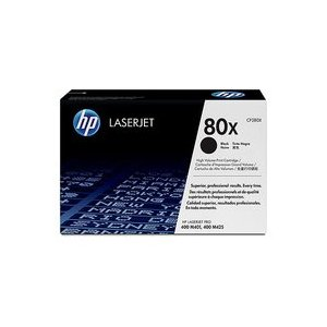 80X Black Dual Pack LaserJet Toner Cartridges