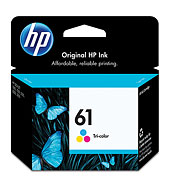 HP 61 Tri-color Ink Cartridge...