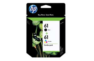 CR259FN 61 Ink Cartridge Combo Pack  (yield: approx. 190 black pages, 165 color pages)