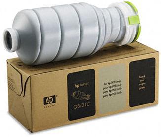 Q5701c Toner Cartridge, 60000 Page-Yield, Black