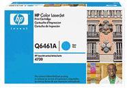 Q6461a Toner Cartridge, 12000 Page-Yield, Cyan