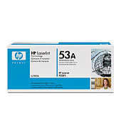 Q7553a Black Print Cartridge  (Yield: 3,000 Pages)