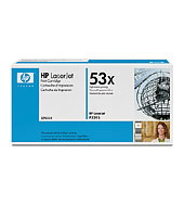 Q7553x Black Print Cartridge  (Yield: 7,000 Pages)
