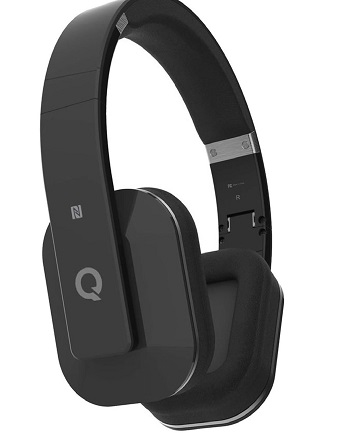 Boundless H3 Bluetooth v4.0 NFC Headphones with Microphone and aptX� - Black *FREE SHIPPING*
