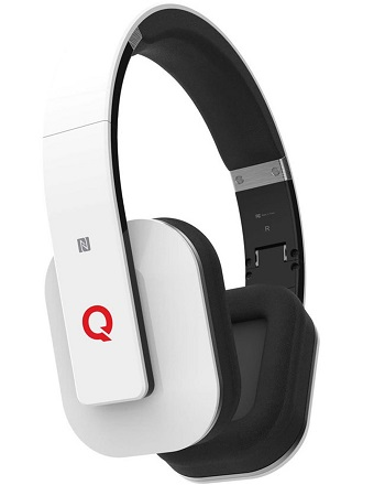 Boundless H3 Bluetooth v4.0 NFC Headphones with Microphone and aptX� - White *FREE SHIPPING*