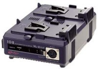 Vl-2plus, 2-Channel Sequential Multi-Format Quick Charger For V-Mount Endura Batteries And 60 Watt Power Supply