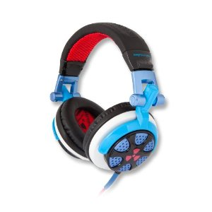 EarPollution EP-RN-BBL/RED Ronin Headphones (Blue/Red)