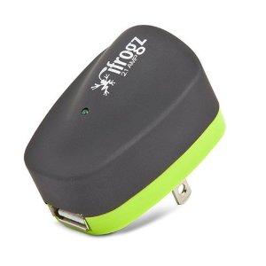 UniqueCharge - 2.1 Amp USB Wall Charger (Lime/Gray)