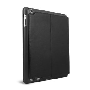 Summit Snap-In Shell Carrying Case for iPad 2  (Black)