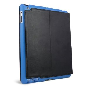 Summit Snap-In Shell Carrying Case for iPad 2 (Blue/ Black)