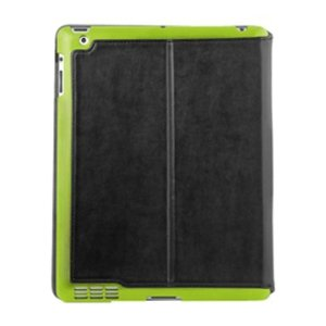 IPADU-SUM-GRN Summit Universal Cover for iPad 3 - (Black/ Green)