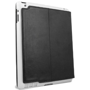 IPADU-SUM-WHT Summit Universal Cover for iPad 3 - (Black/ White)