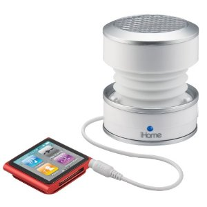 iHM61 3.5mm Aux Color Changing Portable Mono Speaker