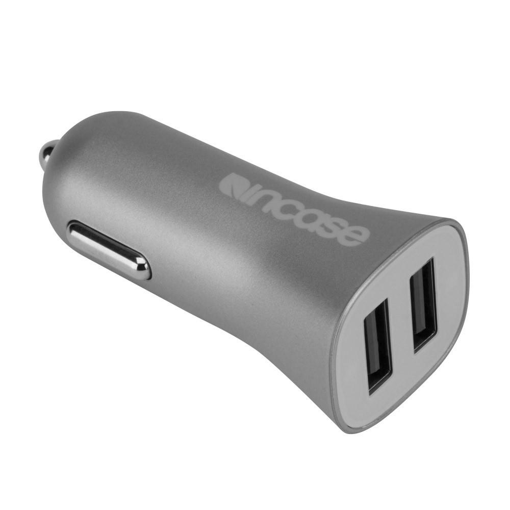 High Speed Dual Car Charger (Gray) *FREE SHIPPING*