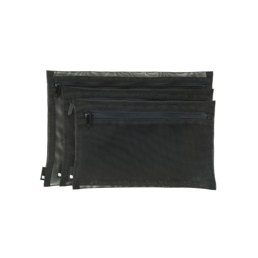 Zip Pouch (3-Pack, Black) *FREE SHIPPING*