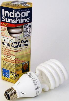 3-Way 20/23/30 Watt Full Spectrum Compact Fluorescent Bulb *FREE SHIPPING*