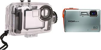 SP-880K 8.0 Megapixel, 3x Optical Zoom, 2.5 Inch LCD Screen Underwater Digital Camera (30ft/9.14m) With SP-8 Underwater Housing Kit (130ft/39.62m)  *FREE SHIPPING*