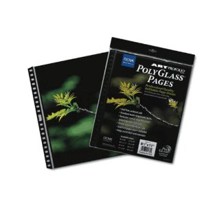 PR-8-11 Art Portfolio Polyglass Refill Pages (Set of 10) Size: 8.5