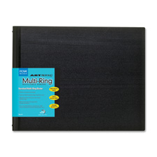 RB-11-14 Art Profolio 11x14 Multi-ring Refillable Binder - Black *FREE SHIPPING*