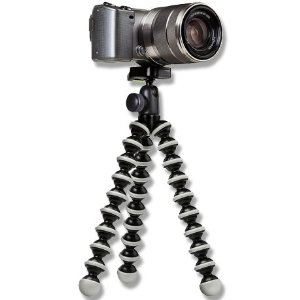 Gorillapod Hybrid Flexible Mini-Tripod with Ball Head - Black/Grey *FREE SHIPPING*