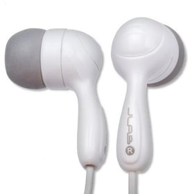 Hi-Fi Noise-Reducing Ear Buds (White)