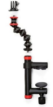 Action Camera Clamp and GorillaPod Arm - Black/Red *FREE SHIPPING*