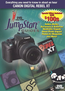 DVD Training Guide For The Canon EOS Rebel Xt Digital Camera