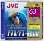 Vdw-28du, 2.8gb (60 Minutes) Double-Sided Mini Dvd-Rw Disc For Dvd Camcorders With Jewel Case
