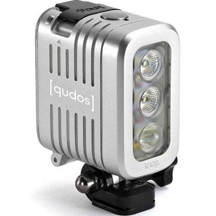 QUDOS ACTION Video Light For Select GoPro Action Cameras - Silver *FREE SHIPPING*