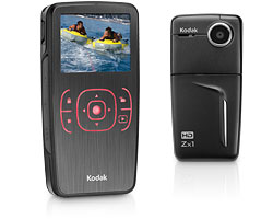 Zx1 HD High Definition Pocket Video Camera - Black *FREE SHIPPING*
