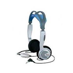 KTXPRO1 Titanium Portable Headphones w/ Volume Control