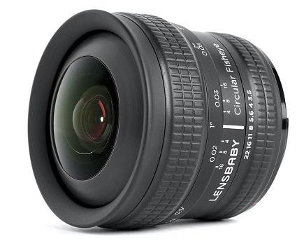 LBCFEN 5.8mm Circular Fisheye Lens For Nikon *FREE SHIPPING*