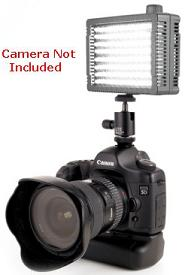 LP MicroPro Dimmable Compact On-Camera LED Light Kit *FREE SHIPPING*