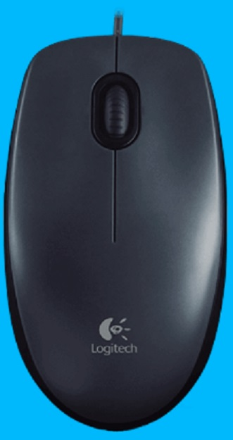 MOUSE M100 - Corded full-size comfort *FREE SHIPPING*